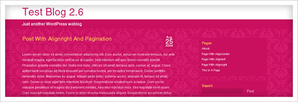 Bubblegum WordPress Template