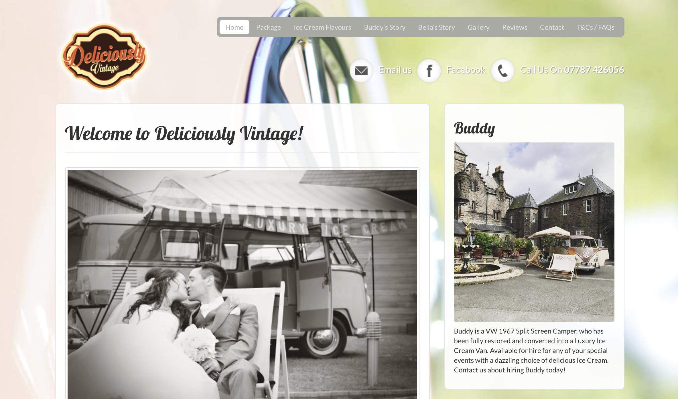 Deliciously Vintage - VW camper van hire in Wales